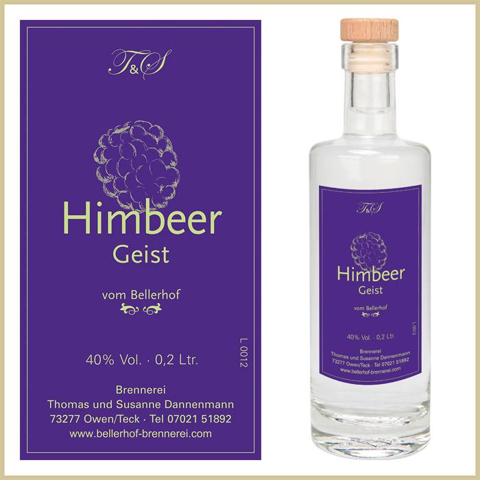 Bellerhof Himbeergeist, 200 ml