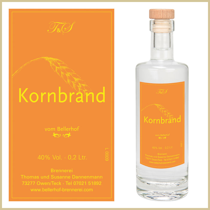Bellerhof Kornbrand, 200 ml