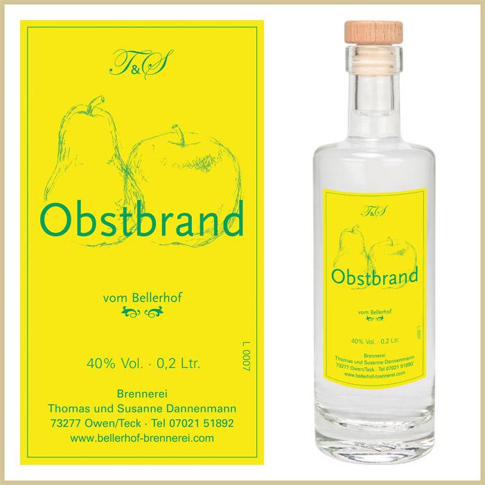 Bellerhof Obstbrand, 200 ml