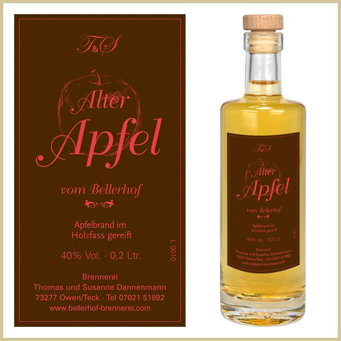 Bellerhof Alter Apfelbrand, 200 ml