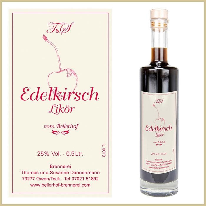 Bellerhof Edelkirschlikör, 500 ml