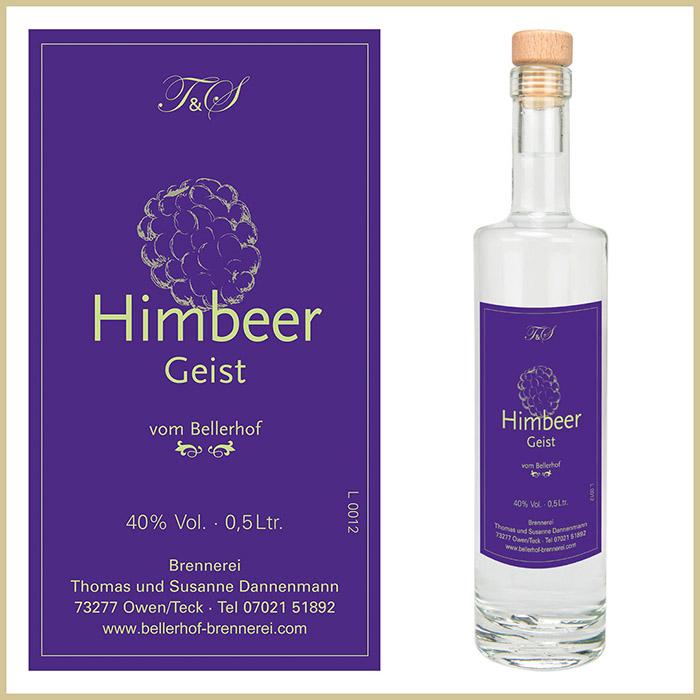Bellerhof Himbeergeist, 500 ml