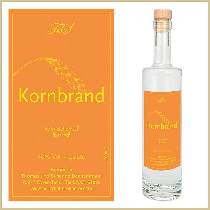 Bellerhof Kornbrand, 500 ml