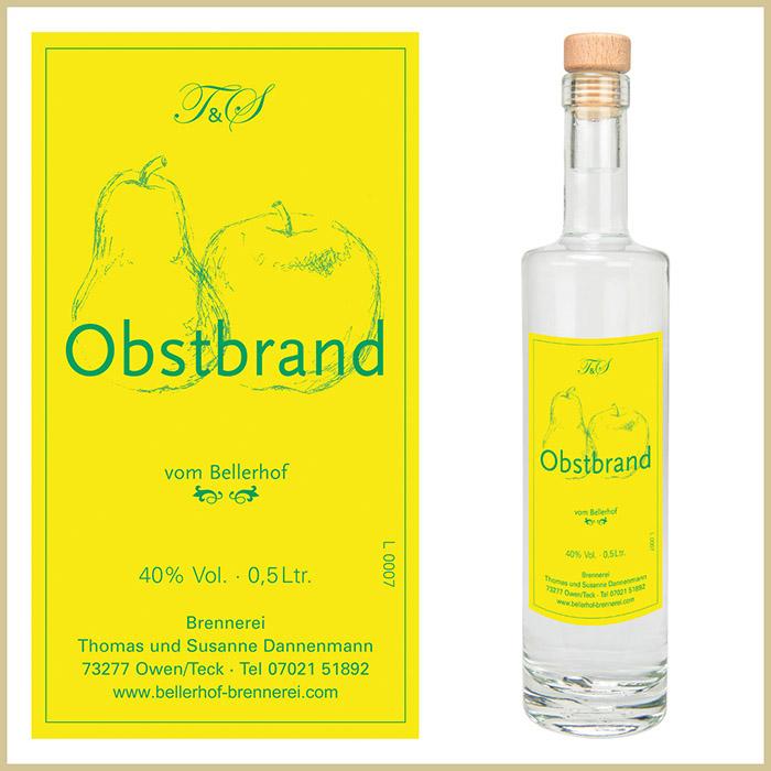 Bellerhof Obstbrand, 500 ml