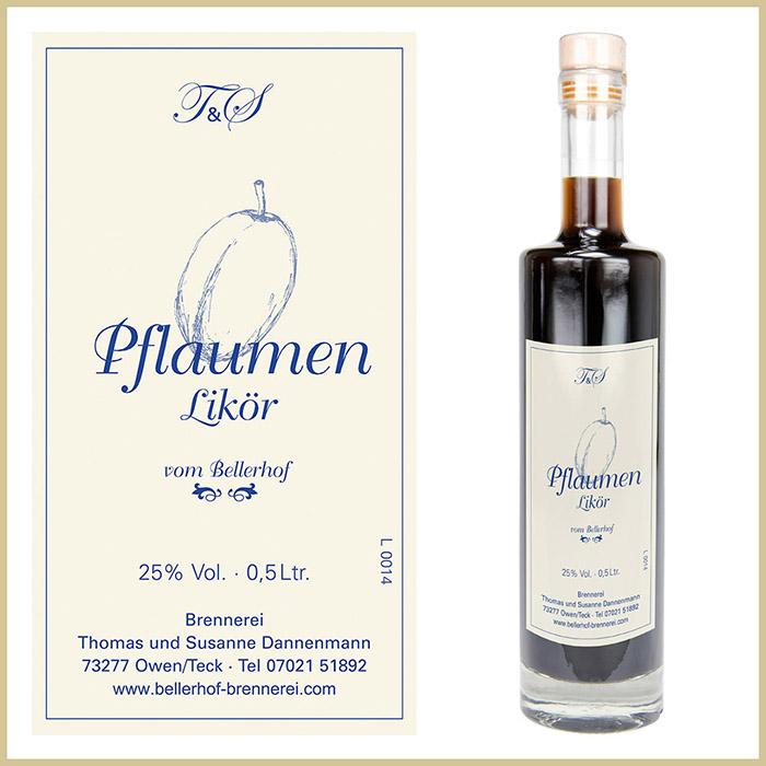 Bellerhof Pflaumenlikör, 500 ml