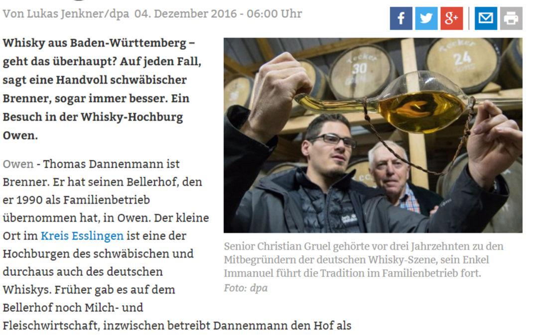 """Die """"Stuttgarter Nachrichten"""" berichten aktuell über uns"""