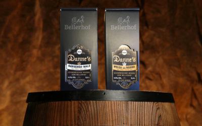 Premiere Danne's Single Grain und Malt 0,5 l in neuer Verpackung und neuem Design